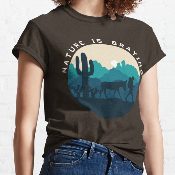 Nature is Braying (male) Classic T-Shirt