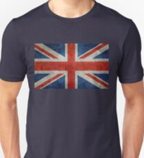 British Union Jack flag Vintage version, scale 3:5 Unisex T-Shirt