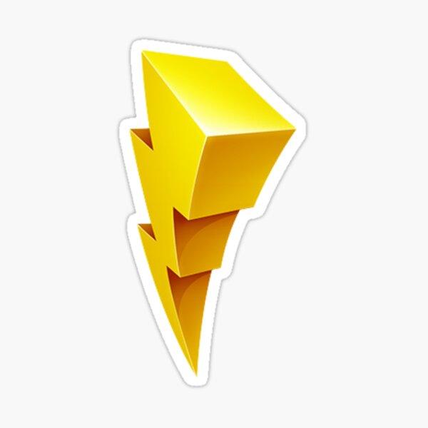 Power Rangers Bolt Sticker