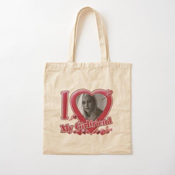 Phoebe Bridgers Face Artwork Cotton Tote Bag