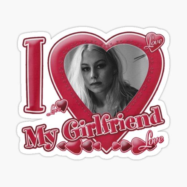 Phoebe Bridgers Face Artwork Sticker