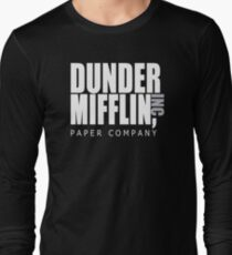Dunder Mifflin Paper Company - The Office Long Sleeve T-Shirt