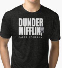 Dunder Mifflin Paper Company - The Office Tri-blend T-Shirt