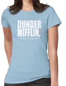 Dunder Mifflin Paper Company - The Office Womens Fitted T-Shirt