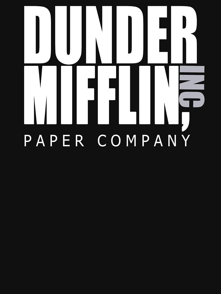 TShirtGifter presents: Dunder Mifflin Paper Company - The Office | Unisex T-Shirt