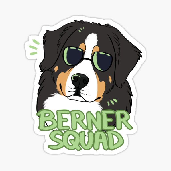 BERNER SQUAD Sticker