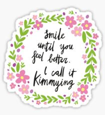 Kimmying Sticker