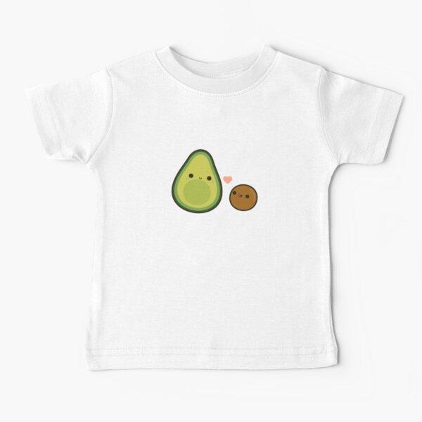 Cute avocado and stone Baby T-Shirt
