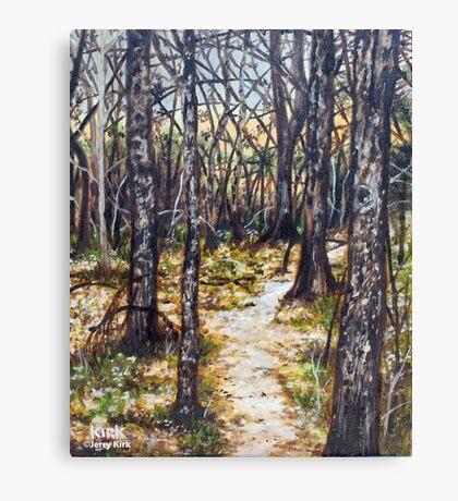 'Woods At Dusk' Canvas Print