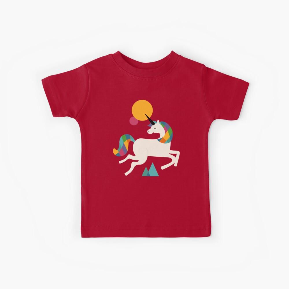 To be a unicorn Kids T-Shirt
