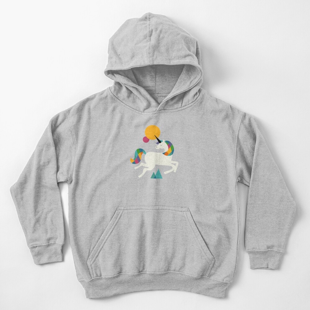 To be a unicorn Kids Pullover Hoodie