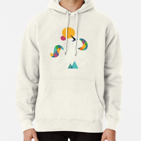 To be a unicorn Pullover Hoodie