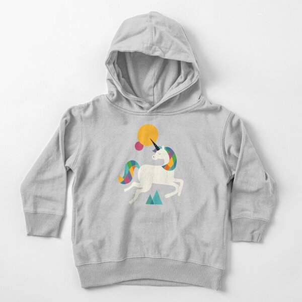 To be a unicorn Toddler Pullover Hoodie