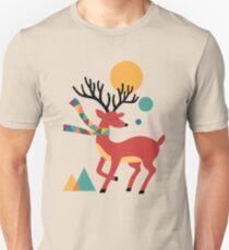 Deer Autumn Unisex T-Shirt