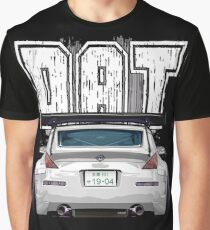 Nissan Fairlady 350Z Z33 White ( Dat Ass ) Graphic T-Shirt