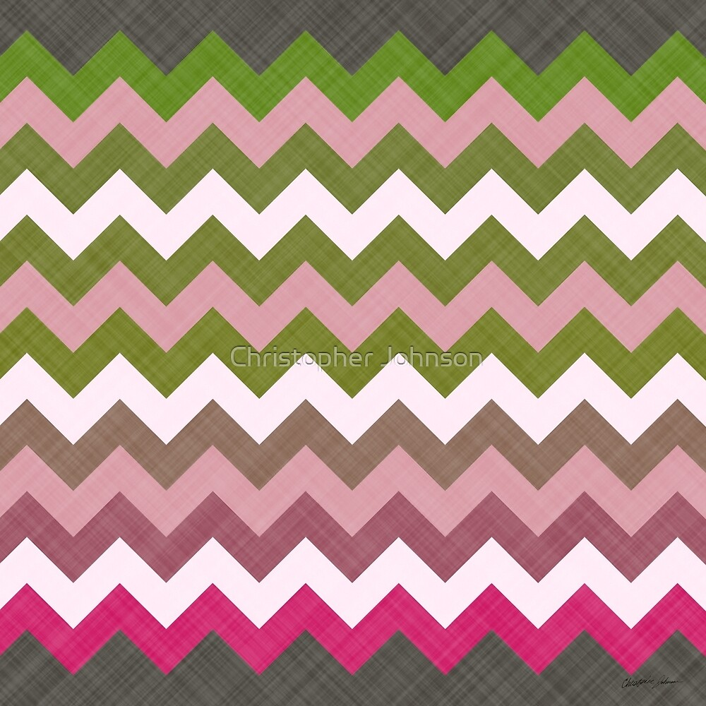 Pink Roses in Anzures 3 Chevron 4T by Christopher Johnson