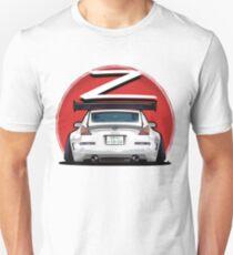 Nissan Fairlady 350Z Z33 White  T-Shirt