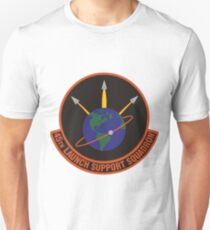 45th Launch Support Squadron Logo Unisex T-Shirt