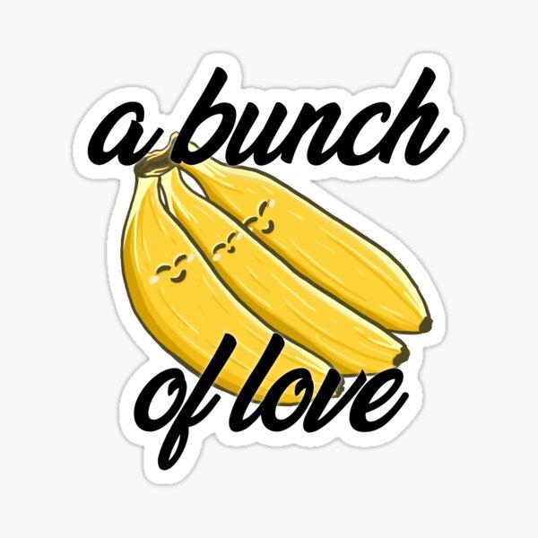 Polyamorous Bananas Sticker