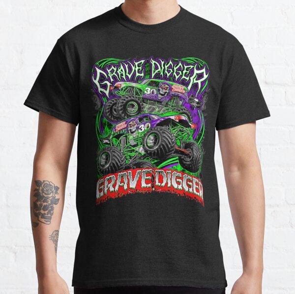 Monster jam grave digger monster truck Fans Art Gift Classic T-Shirt