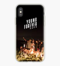 Vinilo o funda para iPhone BTS + FOREVER YOUNG # 2