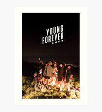 BTS + IMMER JUNG # 2 Kunstdruck