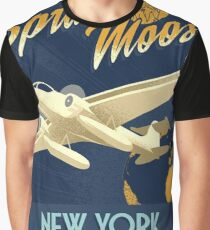 Fly the Spruce Moose Graphic T-Shirt