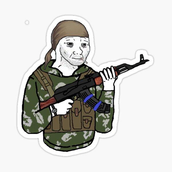 Spetsnaz Recce Doomer Sticker