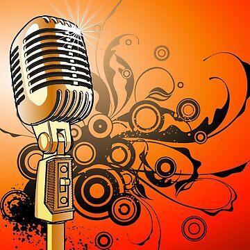 Vintage Microphone by Pierpax21