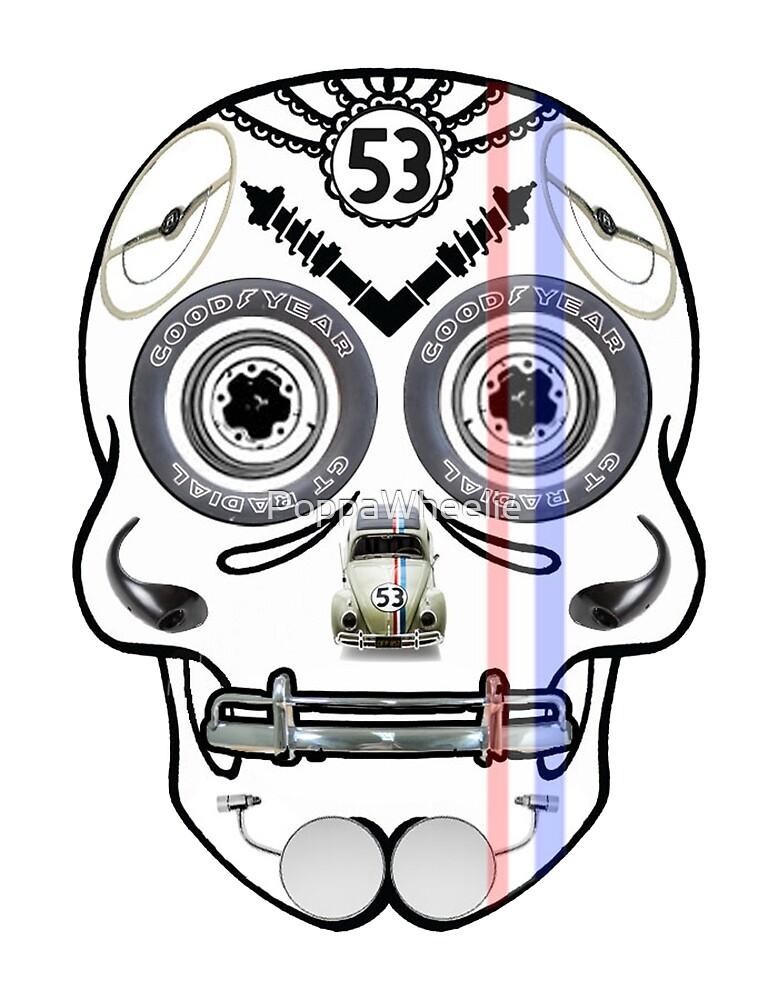 Herbie - Dia De Los Muertos by PoppaWheelie