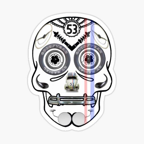 Herbie - Dia De Los Muertos Sticker