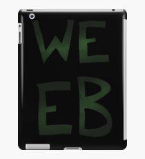 Green Space Weeb Graphic iPad Case/Skin