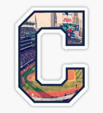 Cleveland C Sticker