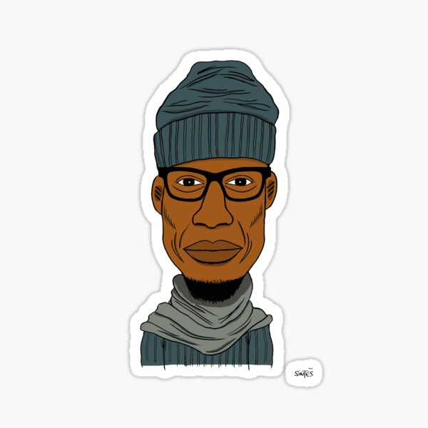 Portrait dessiné de Roi de la New Soul. Sticker