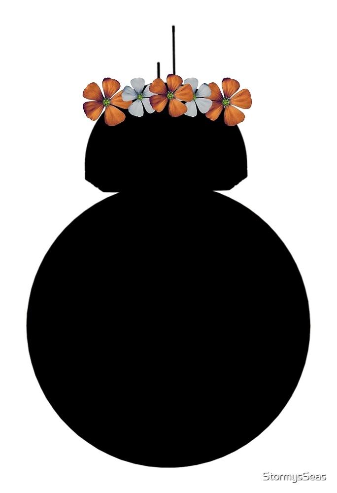 BB-8 Flower Crown by StormysSeas
