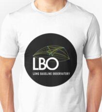 Long Baseline Observatory or VLBA Logo Unisex T-Shirt