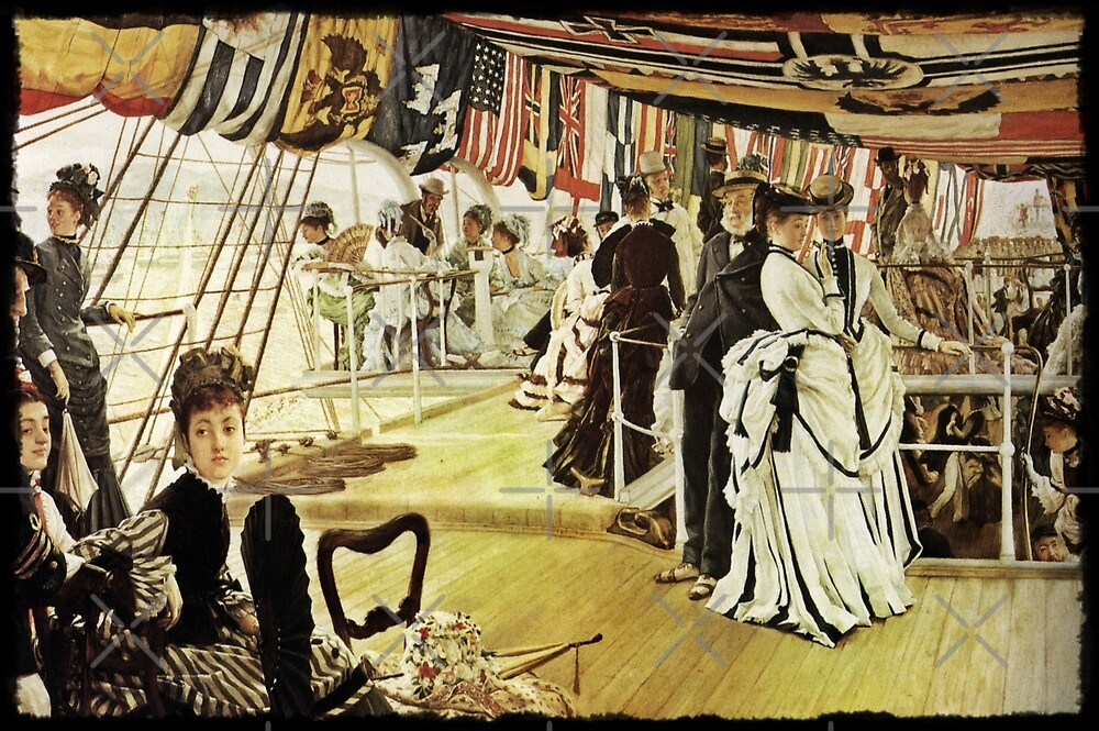 The Ball on the Shipboard by diane  addis