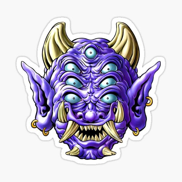 Violet Oni Sticker
