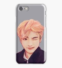 Blond Taehyung  iPhone Case/Skin