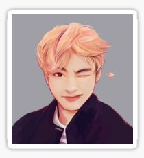 Blond Taehyung  Sticker