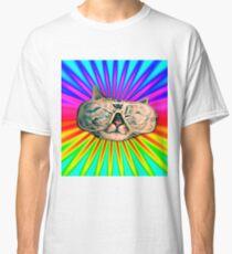GLASSES CAT Classic T-Shirt