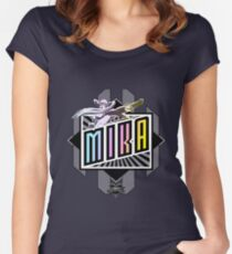 R-Mika Women's Fitted Scoop T-Shirt