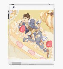 handsome jack on a cake  iPad Case/Skin