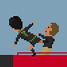 Kung Fu Kick by 8bitfootball