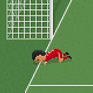 Sniffing the line by 8bitfootball