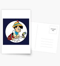Pinocchio Postcards