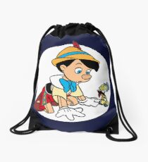 Pinocchio Drawstring Bag
