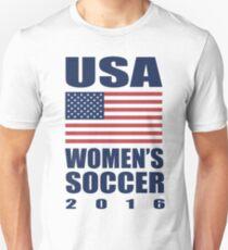 USA Women's Soccer 2016 T-Shirt