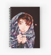 Peekaboo Jungkook Spiral Notebook