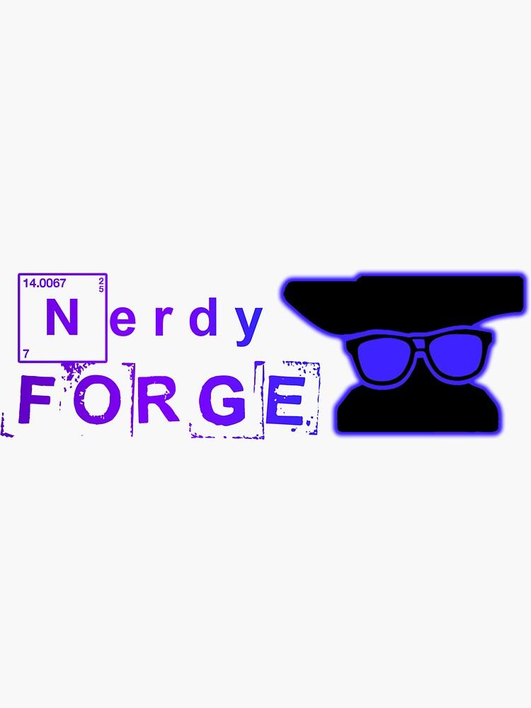 Our NerdyForge Logo  by NerdyForge